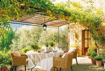 Mediterranean patios