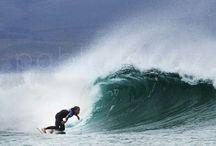 Surfing Galicia