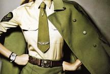 militar / estilos diferentes e jeito de usar o militar