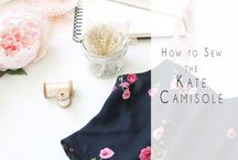 Camisoles Patterns & Drafting
