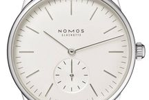Nomos Glashutte Watches /  The history of Nomos Glashutte watches started in Germany in 1991. Nomos Glashutte is specialized in the production of mechanical watches with hand wound movement. Its first model carried the name Tangente. All of the company's timepieces feature Nomos in-house made movements. In 2005, Nomos Glashutte made its first automatic calibre.    Watches from NOMOS Glashütte have received over 120 awards in the past ten years. http://www.jurawatches.co.uk/collections/nomos-glashutte-watches