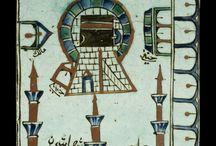 Mekke - Kabe panoları / the Kaba paintings and tile works