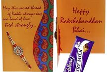 Send Rakhi with Cards