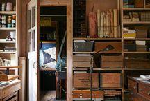 Storage & Workroom Ideas
