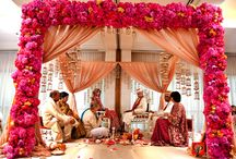 Indian Wedding Mandaps / The pillared structure for weddings!