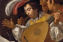 Musical in fine art