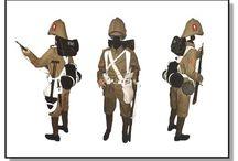 Military - Boer War - Uniforms
