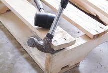 pulling apart pallets