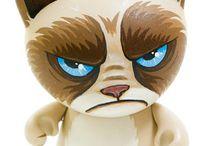 Trikky Cat Munny Customs