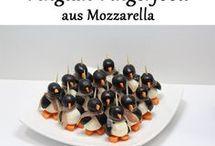Fingerfood Pinguine