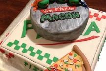 TMNT cakes/party ideas