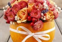 Fall Parties / höstfest / inspiration för höstens alla fester
