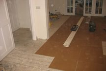 Hall, Stairs & Landings In Wood Flooring / Client: Private Residence In East London. Brief: To supply and install a wood floor.