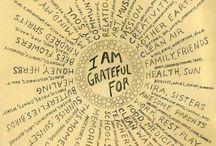 Gratitude / by Carol Thalmann