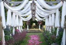 Wedding / Casamentos / Idéias ao ar livre