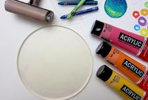 July 2015 Project Party - Gelli Prints & Mixed Media