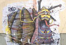 Street Art / Je suis fasciné par la création artistique dans les rues des villes... Un musée à ciel ouvert ! L'art à la portée de tous !