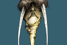 """Alex Pardee / ALEX PARDEE IS A VISIONARY AMERICAN ARTIST AND PIONEER IN WHAT HE CALLS, """"TRANS-MEDIA ARTISTRY"""", BRINGING HIS UNIQUE STYLE AND AESTHETIC TO ALL PLATFORMS, INCLUDING NUMEROUS CREATIVE DIRECTOR CREDITS FOR MUSIC, ANIMATION, AND FILM PROJECTS."""