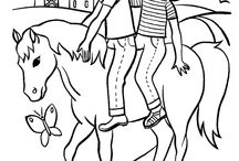 coloring pages 45 (horse)