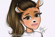 Ariana Grande(desene)