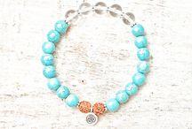 Bracelet with Rudraksha