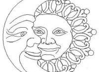 molde sol y luna