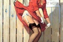 Um Show de Pin Ups. / Um Show de Pin Ups. Garotas Sensuais em Ilustrações fantásticas!