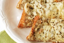 chow:CHEESY HOT BREADS / by Dianne Mauth Daines