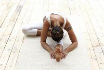 Yoga student: A.