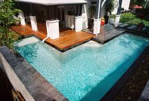 Pool designs for a small backyard / If you have limited space in your backyard, that doesn't mean you can't have an inground pool. Plunge pools are becoming a popular option for urban backyards that are small on space but big on ideas.