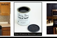 Chalk Paint® for Cabinets (Kitchens, Baths, etc) / by The Purple Painted Lady ~ Tricia Kuntz
