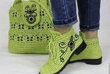 kötött cipők