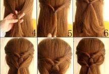 Une coiffure pour une crinière / Une sélection de coiffure sur Pinterest par mes soins :)