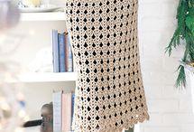 spódnice na drutach i szydelku / modele i wzory spódnic na drutach i szydełku