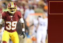 The Squad / Get to know each and every one of the Redskins on the team's roster. / by Washington Redskins