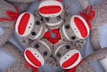 Sock Monkeys / Ever since my son's first birthday party I have a new found love for sock monkeys