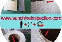 Tarpaulin quality inspection