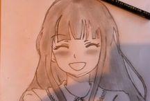 Anime drawing / Anime drawing!!!