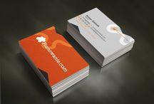 Wizytówki, logo, inne / Projekty zrealizowane przez icommedia.