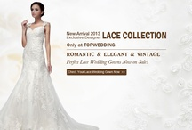 Top Wedding Promotion / Go for Topwedding big promotion now! Up to 60% discount on wedding dresses, prom gowns, and accessories! / by Topwedding
