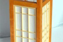 Shoji lamps / Japan handmade shoji and kumiko lamps
