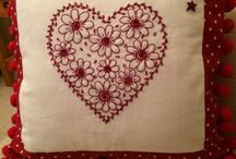 embroidery redwork