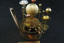 steampunk dekor