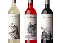 diseño y vino
