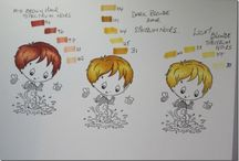 Coloring Tips  / by Deanne Clarke-Saunders