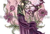 fairies & Dragons & words