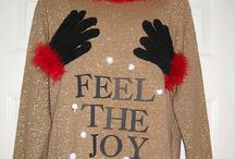 Ugly Christmas sweaters to the rescue / by Heather Richard Photography