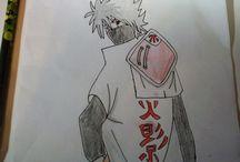 Kakashi Hatake gezeichnet