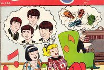 beatles comics