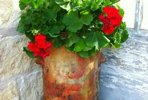 Fabulous Containers / Pottery, Planting Combinations & Much More